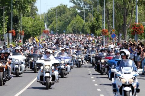 Harley Fesztivál - Szombaton motoros felvonulás