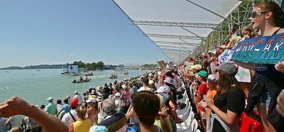 Véget ért a világbajnokság Balatonfüreden - Minden nap teltház