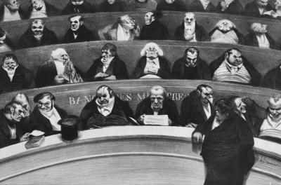 A groteszk mestere, Honoré Daumier tárlata