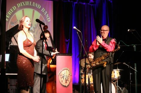 Debütált a Füred Dixieland Band